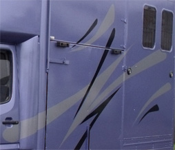 Horse box graphics